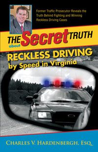 Reckless Driving by Speed in Virginia